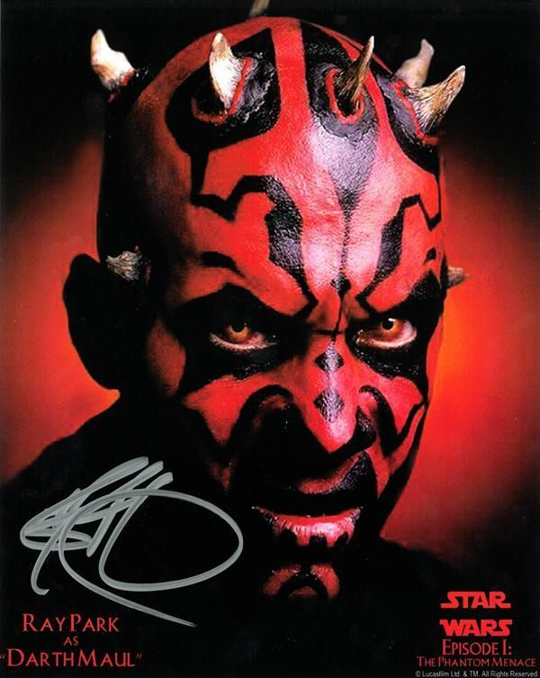 Ray park darth maul